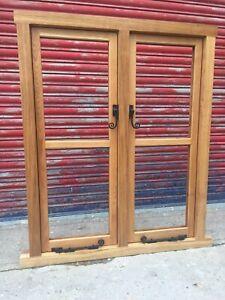 Solid Oak Hardwood Timber Casement Windows!!! Made To Measure!!! Bespoke!!!