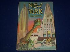 1938 NEW YORK ILLUSTRATED SOFTCOVER BOOK NO. 20 - GREAT PHOTOS - J 1397