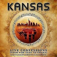 Live Confessions (From New York To Omaha) von Kansas (2016)