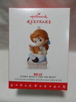 2016 Hallmark Keepsake Ornament Belle Precious Moments Beauty and The Beast