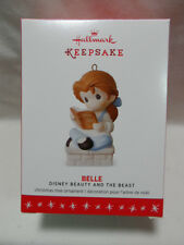 2016 Hallmark Keepsake Ornament Belle Precious Moments Beauty and The Beast B4