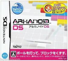 Used DS  ArKanoid DS Taito NINTENDO JAPANESE IMPORT