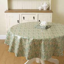 William Morris Sweet Briar 137cm Pvc / Oilcloth Round Floral Tablecloth