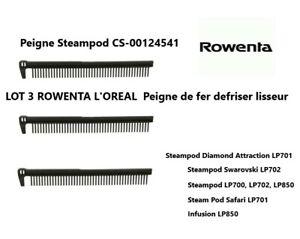 CS00124541 ,CS-00124541 LOT 3 Peignes de fer defriser lisseur ROWENTA L'OREAL