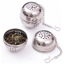 Stainless Steel Ball Tea Infuser Mesh Filter Strainer with Hook
