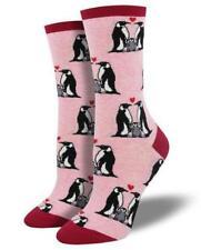 Penguin Romantic Valentine Love Socks (Size 9-11)