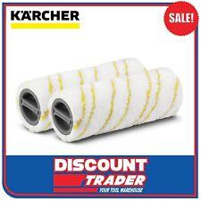 Karcher Microfibre Rollers Set Suits Karcher Floor Cleaner FC5 - 2.055-006.0