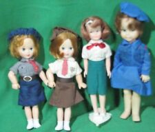 Dolls Dressed as Girl Guides-Lot of 4