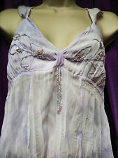 Women's Sleeveless Lilac Top M Only £1.99