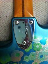 * Fender Japón * MIJ década de 1980 Flor Azul Stratocaster Nr. como Nuevo