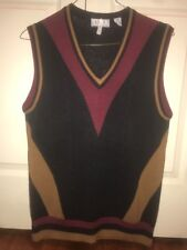 aureus Mens V-Neck Golf Sweater Vest L Exc $12 Compare2other Sellers! DryCleaned