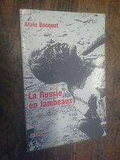 La Russie en lambeaux Alain Bosquet
