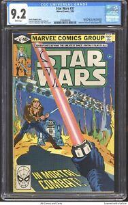 Star Wars #37 1980 CGC 9.2 - Darth Vader vs Luke Skywalker, Jabba app