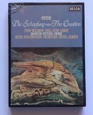 Cassette Box Joseph Haydn - Die Schöpfung - The Creation 2 Mc Uk Decca 1977
