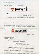 THE DON RICKLES SHOW RARE ORIGINAL 1968 ABC TV PRESS MATERIAL