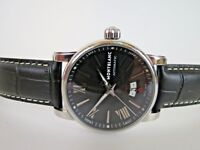 2a62200c2 MONTBLANC Men's 4810 Meisterstuck Automatic Watch Black Dial 7102 Swiss Made