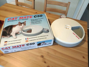 Cat mate automatic feeder