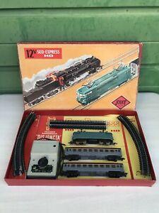 Jouet ancien train coffret Jouef HO Sud Express Locomotive BB SNCF wagon Lima
