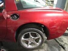 1997-2004 C5 Corvette Coupe Drivers Quarter Panel LH w/ Fuel Door Red