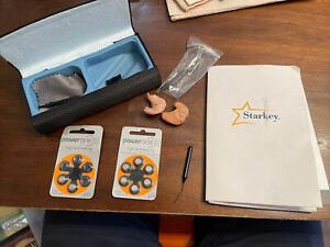 Starkey Hearing Aids 01-13-341453 Shine Rev+ The Ear ITE Pair Left & Right