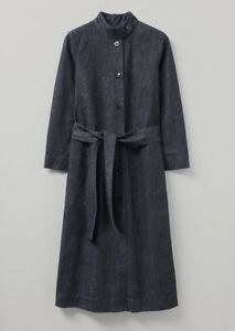 Toast Indigo Denim Coat Dress, Size 8, BNWT