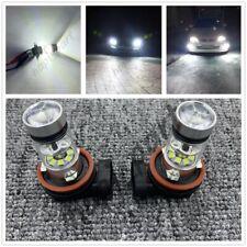 New Super Bright H8 H9 H11 H16 6000K White 55W CREE LED Conversion Kit Fog Light
