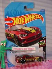 2020 i Hot Wheels DODGE VIPER SRT10 ACR #50/250 ✰red; MOPAR Race Day✰ case B/C