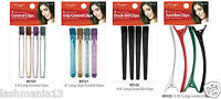 *MAGIC COLLECTION* Pack Of 4 Salon Size Hair Section Clips All Sizes And Types