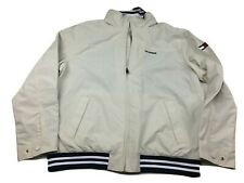 Tommy Hilfiger Mens Beige Regatta Sailing Jacket...