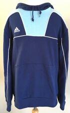 Bnwt Mens Adidas Navy Blue Hoodie Sweatshirt Size Large
