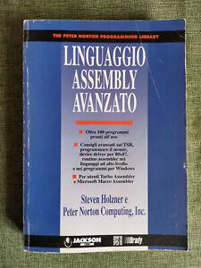 LINGUAGGIO ASSEMBLY AVANZATO The Peter Norton Programming Library, Jackson libri