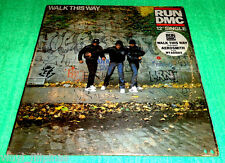 "PHILIPPINES:RUN DMC - Walk This Way,Featuring AEROSMITH 12"" EP/LP,rare!"