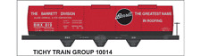 Tichy Train Group #10014 HO Scale Barrett Tank Car (SEPT 2013 RMC) Decals