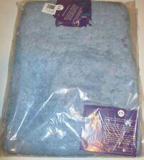 Joy Mangano Luxury Bath Rug With Hollowcore Technology 17 x 24 Spa Blue