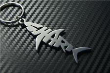 SHARK W Keyring porte-clés BULL REEF SEA FISH BLACK TIP GREAT TIGER WHITE DOG