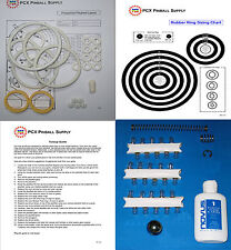 1977 Sonic Prospector Pinball Tune-up Kit - Includes Rubber Ring Kit