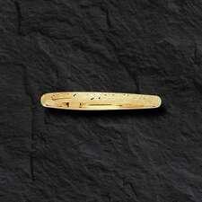 "10k Yellow Gold Florentine Etched Bangle HInged Bracelet 7""  5mm 3/16"" 4 grams"