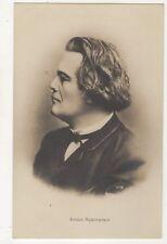 Anton Rubinstein Pianist Composer Music Vintage RP Postcard 633b