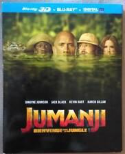 Jumanji bienvenue dans la jungle 3D + Blu-Ray