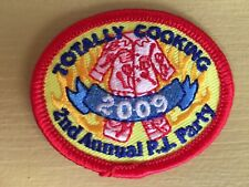 Girl Scout Patch -Totally Cooking 2009 2nd annual PJ Party - Qty 1  - New