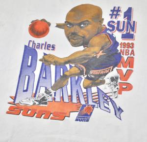 1993 Charles Barkley Phoenix Suns Cotton S-234XL Unisex Tee Shirt FT124