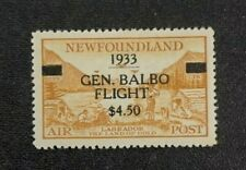 Newfoundland Stamp #C18 MH