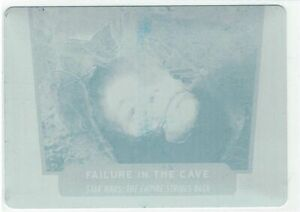 Star Wars 40th Anniversary 2017 Cyan Printing Plate #29 Failure in the Cave 1/1