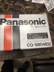 Nos Vintage Panasonic CQ-S804eu Am/fm Cassette Player New Old Stock Rat Rod