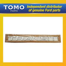 Genuino Nuevo Ford Transit Puerta Trasera Insignia Emblema 2013+ Custom & Conectar van