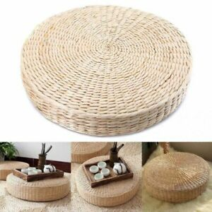 Floor Pad Round Seat Pillow High Quality Yoga Garden Dining Rooms Beige Decor