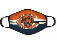 Chicago Bears Face Mask Unisex Adult Reusable Face Mask