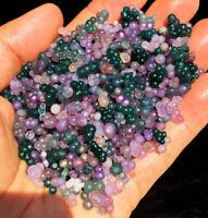 100g Natural Botryoidal Chalcedony Starlight Purple Grape Agate Grain ag001