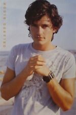 ORLANDO BLOOM ~ ON BEACH 22x34 POSTER Troy Pirates Caribbean Legolas NEW/ROLLED!