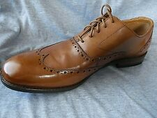 Mens CLARKS Leather Brogues  .. size 10.5 ..  NEW